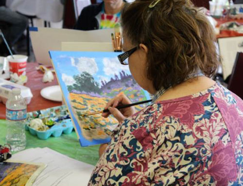 Creative Aging Program at the Abington Senior Community Center