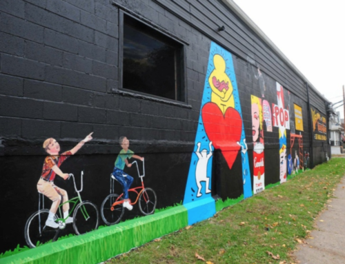 WORK OF ART: Wilkes-Barre mural pays homage to top artists